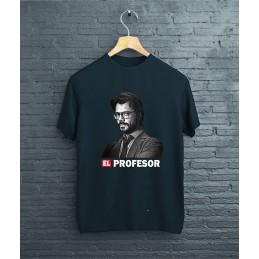 "Koszulka czarna ""El Profesor"""