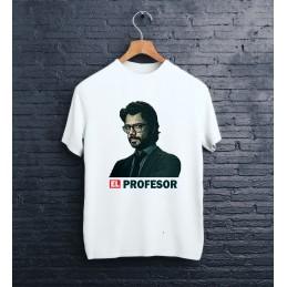 "Koszulka biała ""El profesor"""