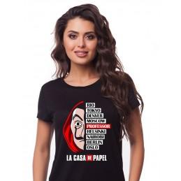 """Koszulka czarna """"La casa de..."""