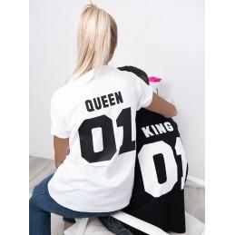 Komplet koszulek Queen- King