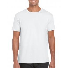 T-shirt męski kolor biały
