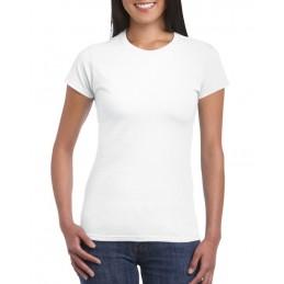 T-shirt damski kolor biały