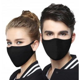 Maska bawełniana na twarz -...
