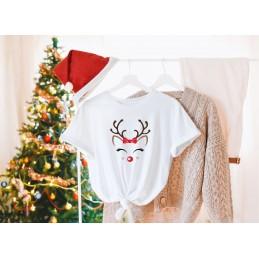 Koszulek świątecza renifer